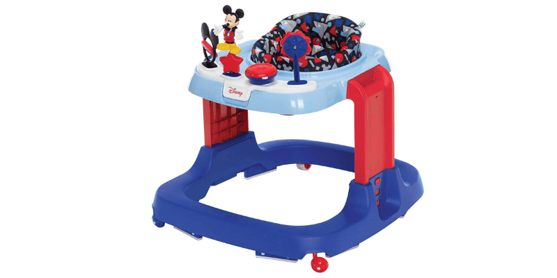 Disney Baby Ready, Set, Walk! DX Developmental Taller Baby Walker